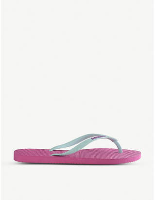Havaianas Slim logo rubber flip-flops