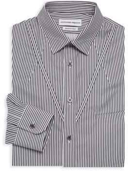 Alexander McQueen Striped Long-Sleeve Shirt