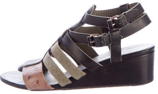 Balenciaga  Balenciaga Multistrap Wedge Sandals