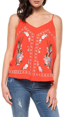 Dex V-Neck Embroidered Camisole