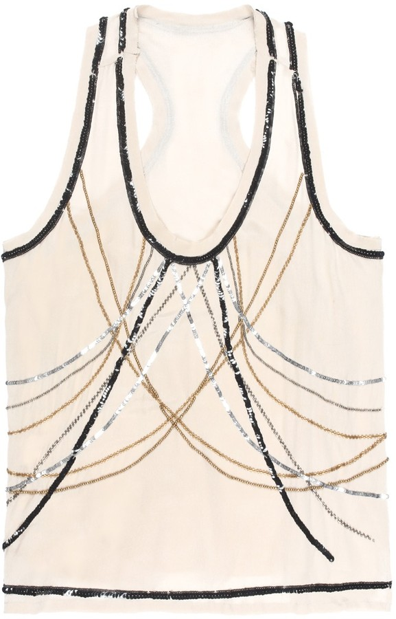 Nicole Miller Body Chain Top