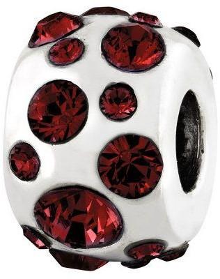 Swarovski Prerogatives Sterling Crystal DottedBirthstone Bead