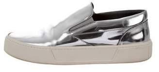 Balenciaga Metallic Slip-On Sneakers