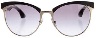 Miu MiuMiu Miu Embellished Gradient Sunglasses