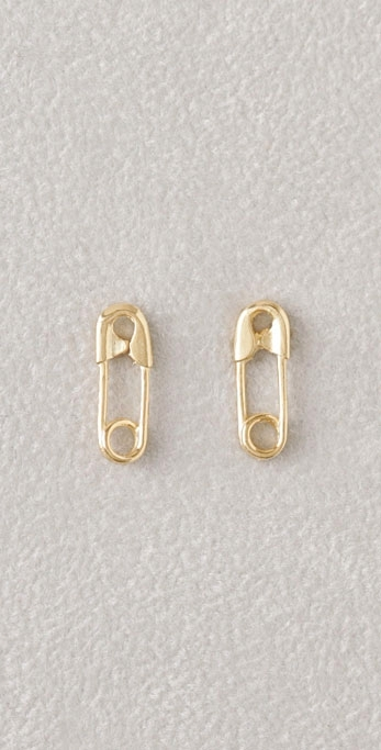 Giles & Brother Safety Pin Studs
