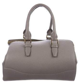 VBH Grained Leather Handle Bag