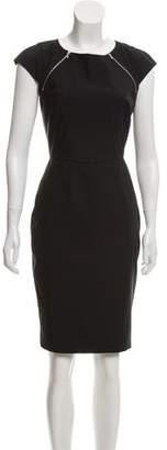 Paul Smith x Black Label Wool Knee-Length Dress