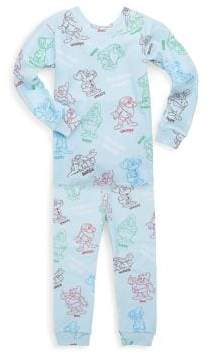 Books To Bed Toddler's & Little Boy's Two-Piece Snow White and the Seven Dwarfs Pajama Set