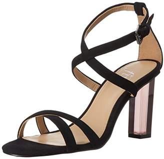 The Fix Women's Conley Lucite Heel Dress Sandal