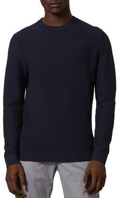 Ted Baker Pontac Mixed Rib Crewneck Sweater