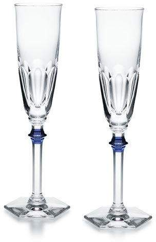 Baccarat Baccarat Set of Two Harcourt Eve Flutes