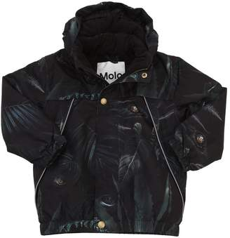 Molo Jungle Print Nylon Ski Jacket