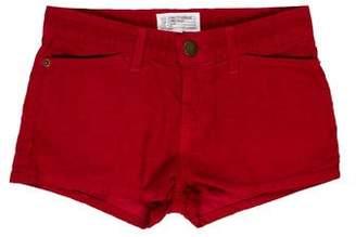 Current/Elliott Corduroy Mini Shorts