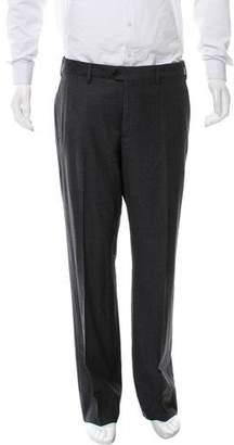 Giorgio Armani Cropped Flat Front Pants