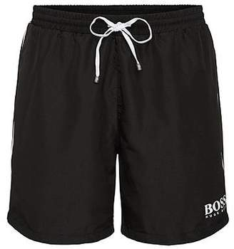 HUGO BOSS Drawstring swim shorts with logo detail