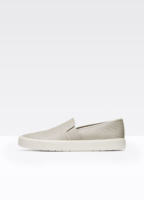 Blair Perforated Leather Sneaker $195 thestylecure.com
