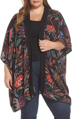 Angie Floral Kimono