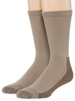 Dickies 2-pk. Non-Binding Steel Toe Crew Socks