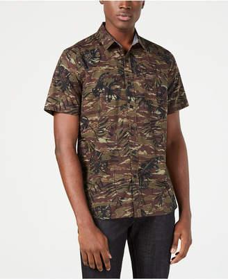 American Rag Men's Floral Camo Shirt