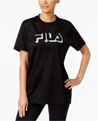 Fila Liona Mesh Logo T-Shirt $50 thestylecure.com