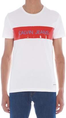 Calvin Klein Jeans 'jeans Ninyl' T-shrit