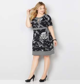 4c1b7d4550a Avenue White Plus Size Dresses - ShopStyle
