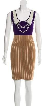 Zac Posen Z Spoke by Sleeveless Printed Dress
