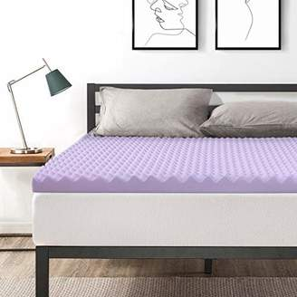 Best Price Mattress Queen 3 Inch Egg Crate Memory Foam Bed Topper with Lavender Cooling Mattress Pad