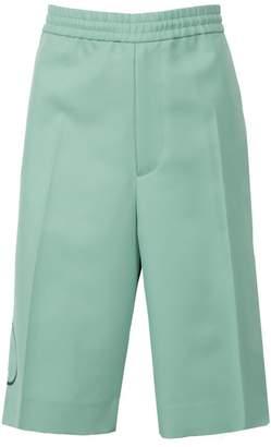 Valentino twill vlogo bermuda shorts