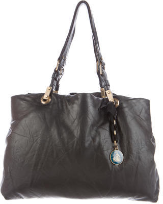 Lanvin Soft Leather Tote $475 thestylecure.com