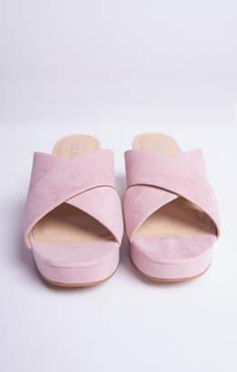 Show Me Your Mumu Kismet Platform Sandals ~ Dusty Pink