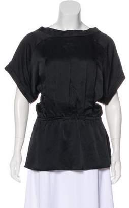 Rachel Comey Silk Short Sleeve Top