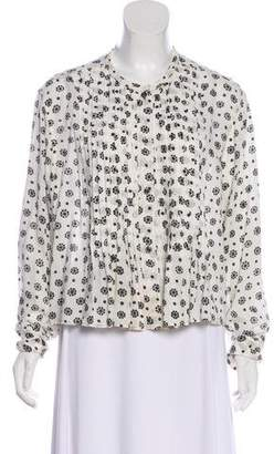 Etoile Isabel Marant Printed Button-Up Blouse