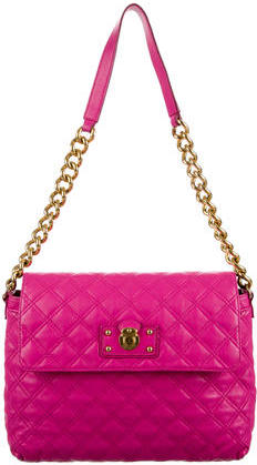 Marc Jacobs Marc Jacobs Large Quilted Single Flap Bag