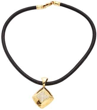 Bulgari Pyramide yellow gold necklace