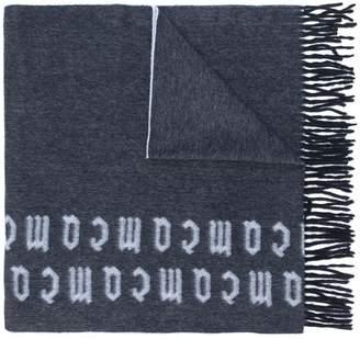 McQ repeat logo scarf