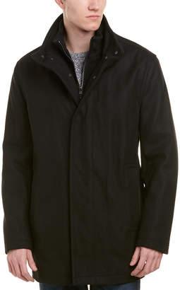 Andrew Marc Coyle Wool-Blend Coat