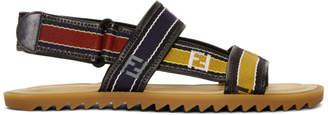Fendi Multicolor Forever Strap Sandals
