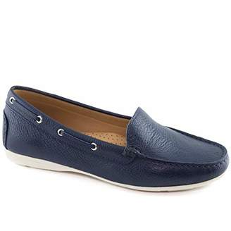Driver Club USA Womens Leather Made in Brazil Cape Cod Loafer Driving Style