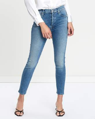 Mother The Stunner Ankle Jeans