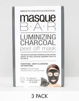 MasqueBAR Charcoal Peel Off Mask x3