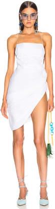 Jacquemus Saudade Dress in Optic White   FWRD