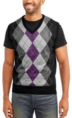 SAHARA CLUB Sahara Club Men's Argyle Sweater Vest