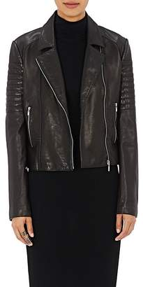 L'Agence Women's Leather Mercer Jacket