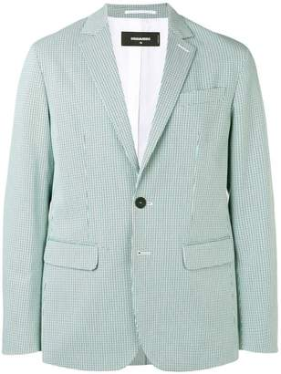 DSQUARED2 houndstooth check blazer