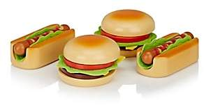 Hape Toys Hamburgers & Hot Dogs Toy Set