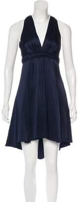 Andrew Gn Knee-Length Empire Dress