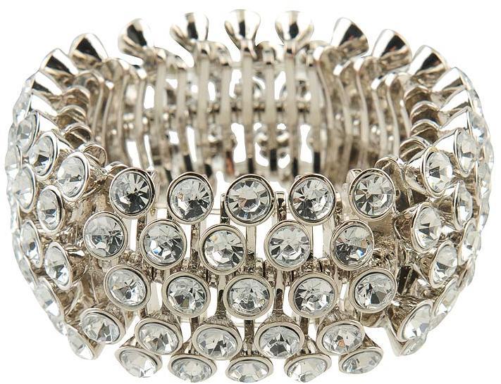 Popping Rhinestone Bracelet