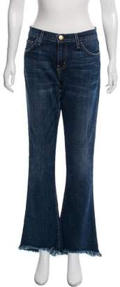 Current/Elliott High-Rise Distressed Jeans