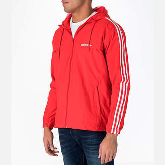 adidas Men's 3-Stripes Windbreaker Jacket